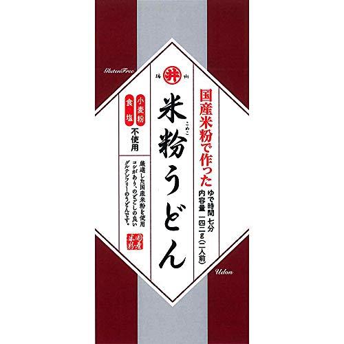 東亜食品 グルテンフリー米粉うどん 142g×8袋