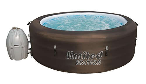 comparateur Bestway-12220-Limited Edition Spa Gonflable Rond 6 Places Diamètre 196cm Hauteur 61cm