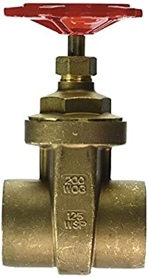 """Red-White Valve 2RW207AB Lead Free Commercial Gate Valve Solder, 2"""" by Standard Plumbing Supply"""