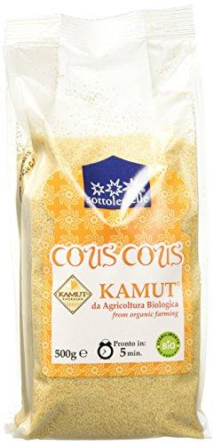 Sottolestelle Cous Cous di Grano Khorasan Kamut - 6 confezioni da 500gr - Totale 3 kg