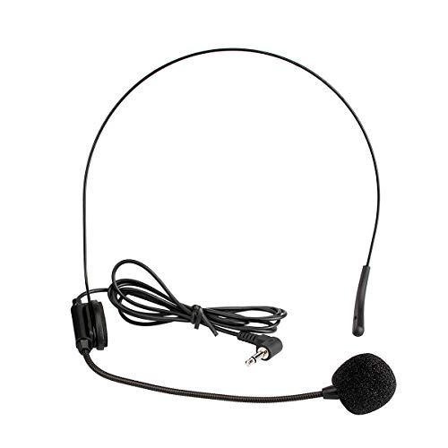 Retekess Wired 3.5mm Microphone Flexible for AUX Audio Device and Voice...