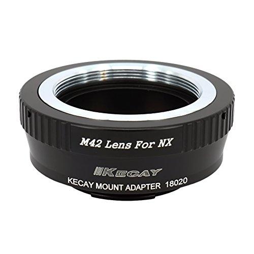KECAY Objektiv Adapterring Objektivadapter für M42 42mm Screw Mount Objektiv auf Samsung NX-Mount-Kamera NX1 NX3000 NX2000 NX300M NX300 NX1000 NX210 NX200 NX30 NX20 NX5 Objektiv Adapter M42 - NX