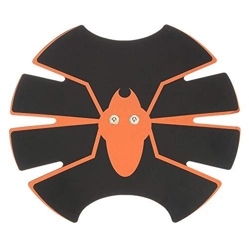 LIUXING Muskeltoner Abdominal Trainer Bauchmuskeltrainer Pad Fitness Trainning Gürtel Bodybuilding Fitness Bauch Aufkleber (Farbe : Schwarz, Größe : Einheitsgröße)