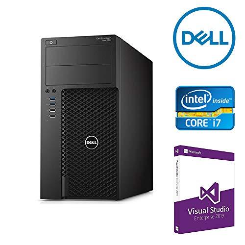 DELL T1700 Workstation Tower, Visual Studio Enterprise 2019 Pre-installed with Digital License, Intel i7, Ram 32GB, SSD 480GB, DVD, NVIDIA Quadro K620. Win 10 Pro(Certified Refurbished)