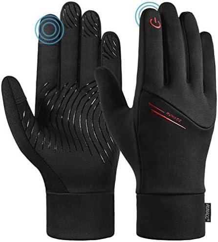 RUNACC Womens Running Gloves Touch Screen Mens Winter Warm Gloves Unisex Waterproof Anti Slip product image