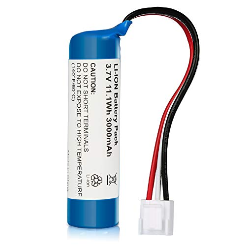 Amityke 3000mAh Harman Kardon Battery, Replacement Battery Compatible with Harman/Kardon Onyx Studio 1/2 / 3/4