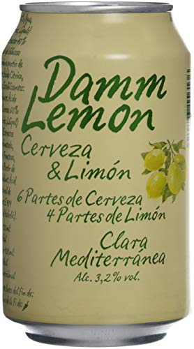 Damm Lemon D.L. - Damm Lemon Lata 33 cl