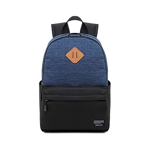 Mode-Laptop-Tasche, Satch Pack Outdoor Multifunktions-Notebook Tablet Rucksack, Geschäftsreise Reisegelegenheits Backpackage Baoaiyiyuanguanli (Color : Dark Blue)