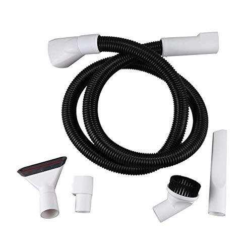 QIBIN Accesorios de limpieza de piezas de aspiradora para Er Boquilla con accesorios de manguera, apto para Vorwerk Kobold VK 150/200 (color: blanco) (color: blanco)