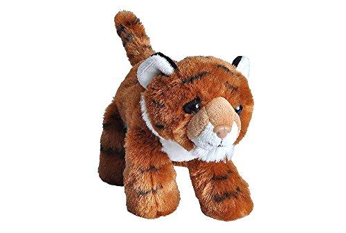 Wild Republic 16233 Hug'ems Plüschtier, Kuscheltier, Tiger 18cm