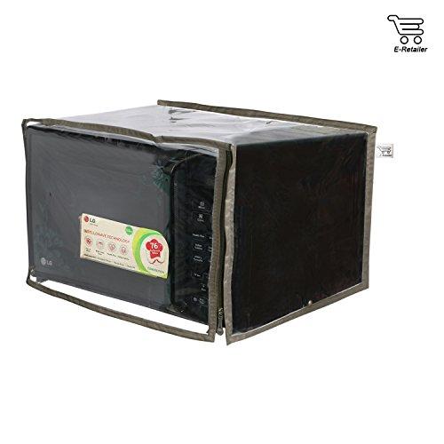 E-Retailer P.V.C Transparent Microwave Oven Cover For 25 LTR