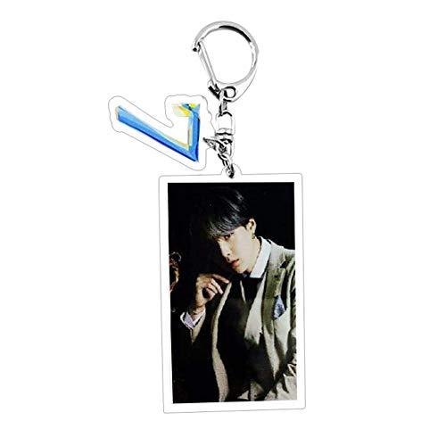 CAR-TOBBY Kpop BTS Nieuw Album 'MAP of The Soul : Persona' Concept Foto Sleutelhanger Acryl Creatieve Sleutelhanger Hot Gift voor A.R.M.Y