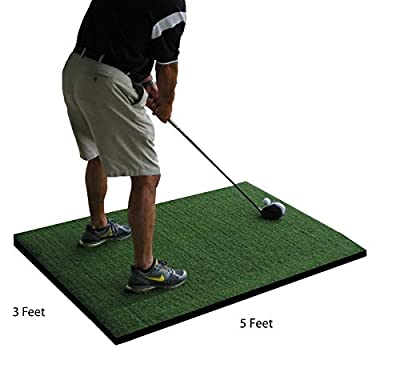Pro Residential Golf Mat 3'X5' with Foam Pad
