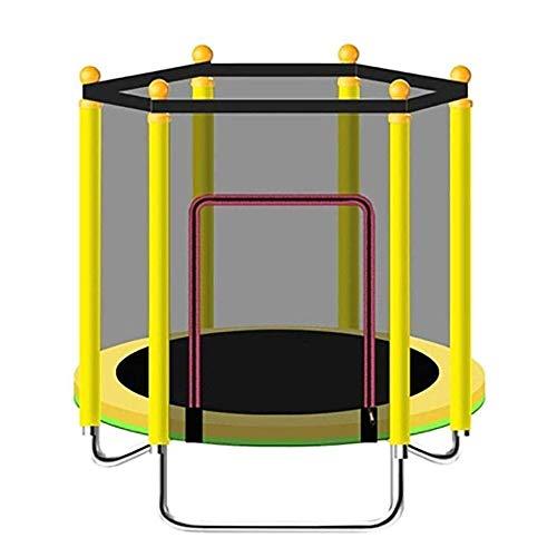 BZLLW Faltbare Übung Trampolin, mit Kapuze Frühling, mit Closed Net - Übung Fitness-Trampolin for Indoor/Garten/Workout