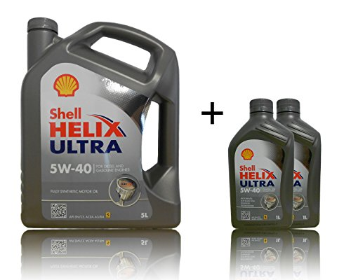 Shell Helix Ultra 5W-40 1x5+2x1 Liter