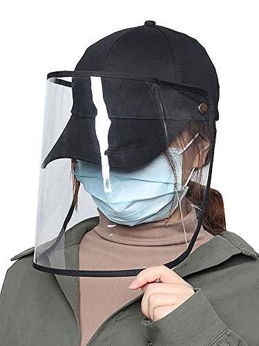 Excellent Gesichtsschutz Schutzmaske Gesichtsschutz Visier Augenschutz Wasserdichtes Fisherman Anti-Spitting Hat f/ür Kinder Jungen M/ädchen