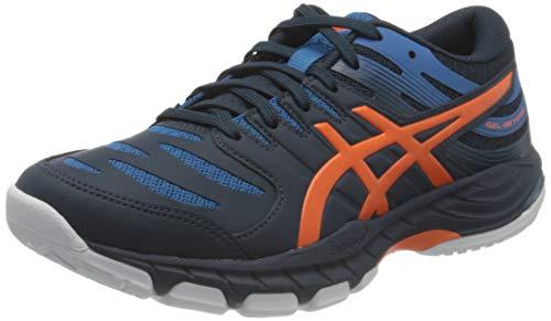 Asics Gel-Beyond 6, Indoor Court Shoe Hombre, French Blue/Marigold Orange, 42 EU