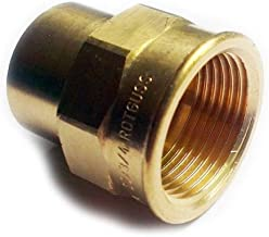 Brass Plumbing Fittings for Solder with Copper Pipes 18mm X 1/2