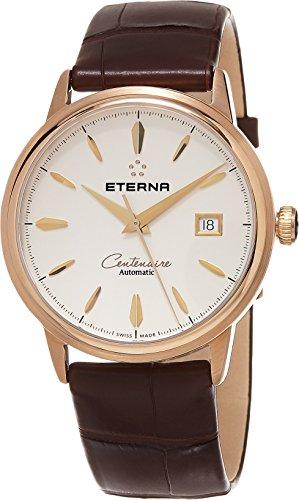 Eterna–Patrimonio Centenaire Fecha Hombres Reloj automático de Oro Rosa Suizo 2960.69.11.1272