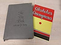 初版 ソフトカバー 再印刷 AA ビッグブック グレー アルコール アノニマス用ブックカバー付 AA ビッグブック ファーストエディション 再印刷とグレーのジップアップブックカバーの両方が手に入ります。