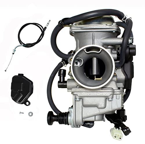 Carburetor Replace for Honda Rancher TRX350 TRX 350 2000 2001 2002 2003 2004-06 Compatible with Honda Atv Atc250sx Atc 250 Sx Carb 1985-1987