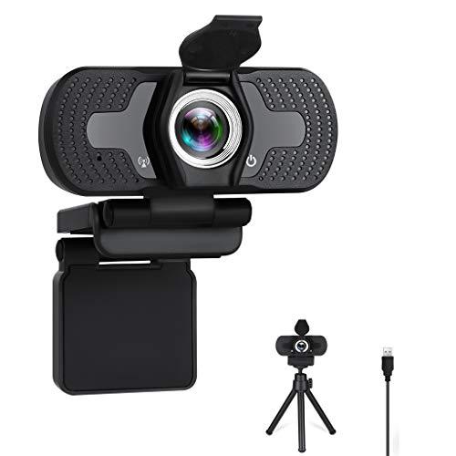 USB HD Webcam Webcams Conferencia, se aplican a Equipos de Estudio Reconocimiento Logiteck iPad Incluye Cubierta de privacidad y pequeño Stand
