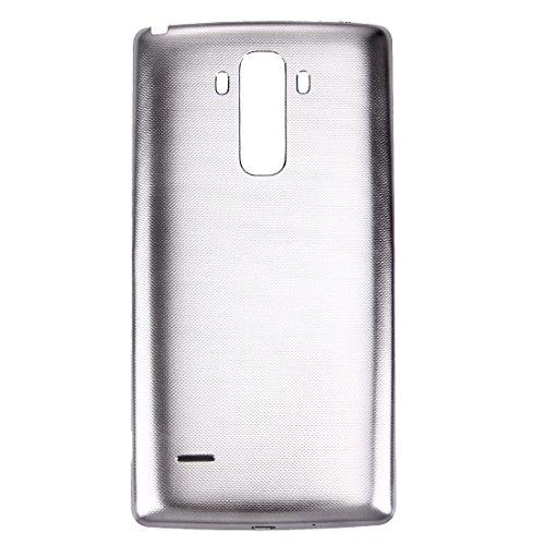 YANGJ Teléfono Batería Tapa Trasera Reparación Repuesto contraportada con Chip NFC for LG G Stylo / LS770 / H631 y G4 Stylus / H635 (Gris) (Color : Grey)