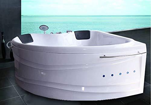 """OimexGmbH Eckwhirlpool 150 x 150 cm 2 Pers. """"Helsinki"""" Whirlpool Badewanne - 5"""