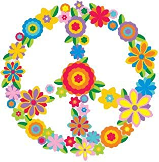 Peace Resource Project Flower Peace Sign - peace / anti-war Bumper Sticker / Decal (3
