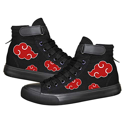 Naruto Anime Uchiha Itachi Cosplay Shoes Costume Canvas Shoes Sneakers