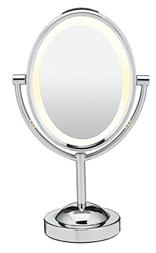 3. Conair Polished-chrome Double-sided Makeup Mirror