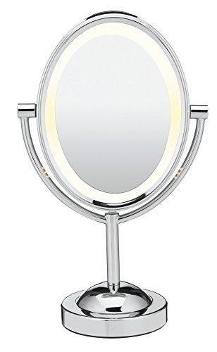 Miroir éclairant double-face oval de Conair