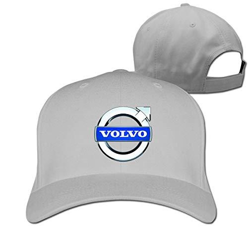 New Personalized The White Volvo Logo Geek 100% Cotton Cricket Cap for Womens Casquette Black,Hüte, Mützen & Caps