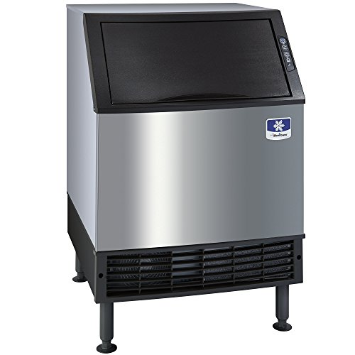 """Manitowoc UDF-0190A NEO 26"""" Air Cooled Undercounter Full Size Cube Ice Machine with 90 lb. Bin - 198 lb"""