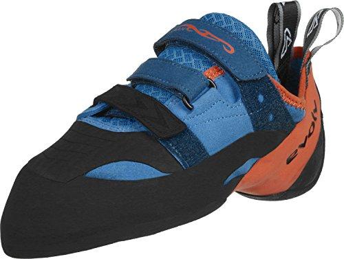 Evolv Shaman Climbing Shoe - Blue/Orange 10.5