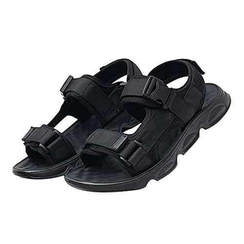 sandalias hombre verano,Zapatillas de Senderismo Transpirable Low Rise Peso Ligero Camper Cuero Sandalias Deportivas,B_42