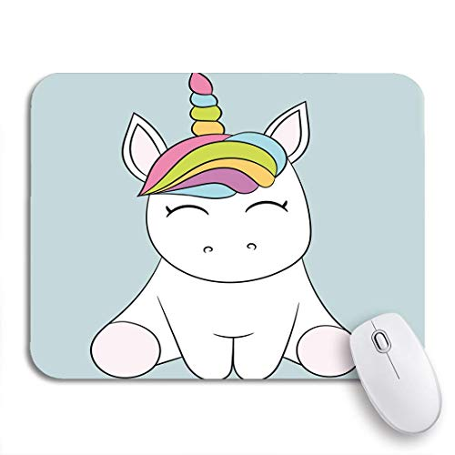 """MIGAGA Gaming Mouse Pad Dream Children Unicorn Best Choice Party Packs Craft Digital 9.5""""x7.9"""" Nonslip Rubber Backing Computer Mousepad for Notebooks Mouse Mats"""