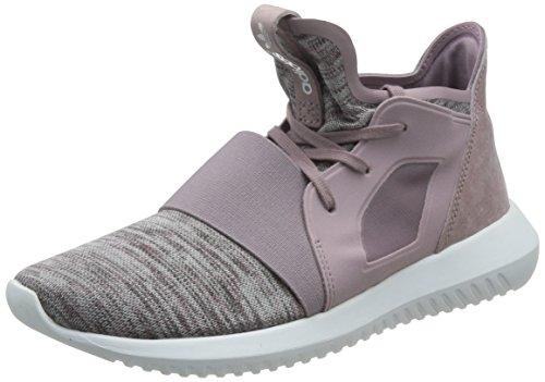 adidas Tubular Defiant Sneaker Damen, grau / lila / weiß, 5 UK - 38 EU