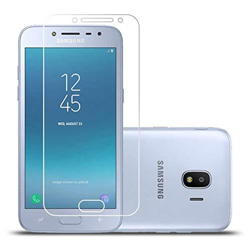 LJSM 2 Stück für Samsung Galaxy Grand Prime Pro 2018 / Samsung Galaxy J2 Pro 2018 SM-J250F Schutzfolie Panzerglas Schutzglas Folie Bildschirmschutzfolie Transparent Gehärtetem Glas Film (5.0
