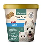 Best Eye Stain Remover For Dogs - NaturVet – Tear Stain Plus Lutein – Eliminates Review