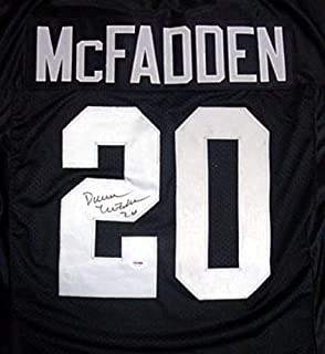 Darren McFadden Signed Uniform - Black - PSA/DNA Certified - Autographed NFL Jerseys