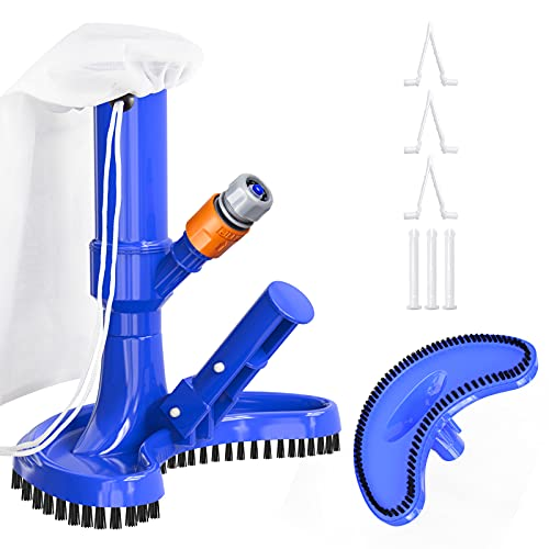 Swimming Pool Vacuum Cleaner, Portable Jet Pool Vacuum Underwater Cleaner...