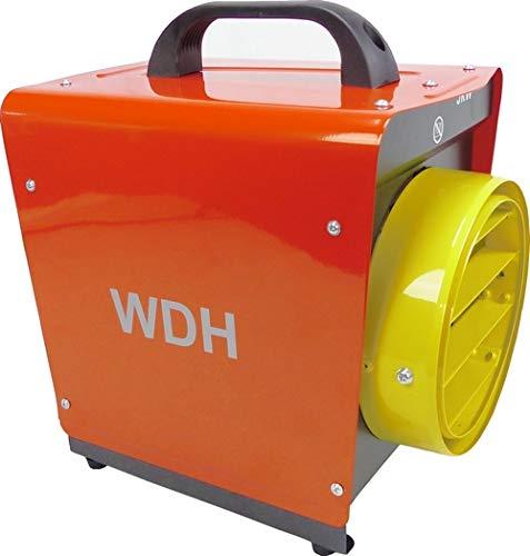Aktobis Heizgebläse WDH-BGP031S mit 3.000 Watt (230 V) und Schlauchanschluss