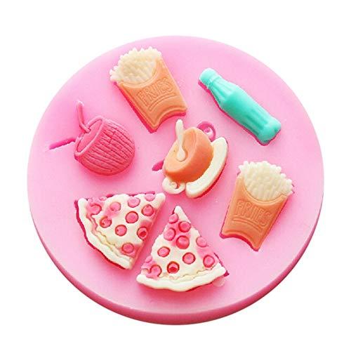 SKJH Noon thé Chocolat Glace Moule décoration de Mariage Silicone Moule Fudge Sucre Arc Artisanat Moule Bricolage décoration de gâteau