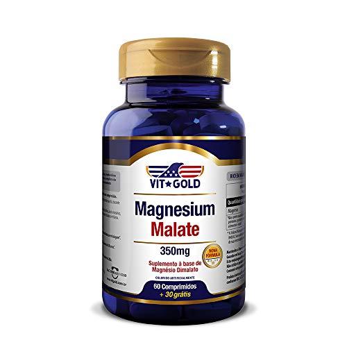 Magnesio Dimalato 350mg Vitgold 60 comprimidos