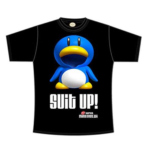 Nintendo - T-shirt Homme NINTENDO - SUIT UP - Noir (Black) - Large