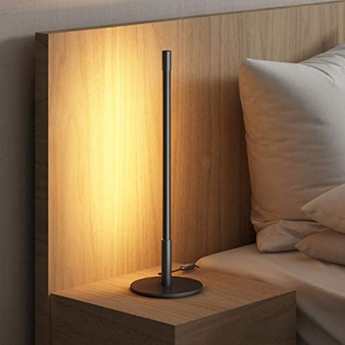Nordic Stick Table Lamp Dimmable Table Light with Sleek Round Base Amazing Minimalist Warm Bedside product image