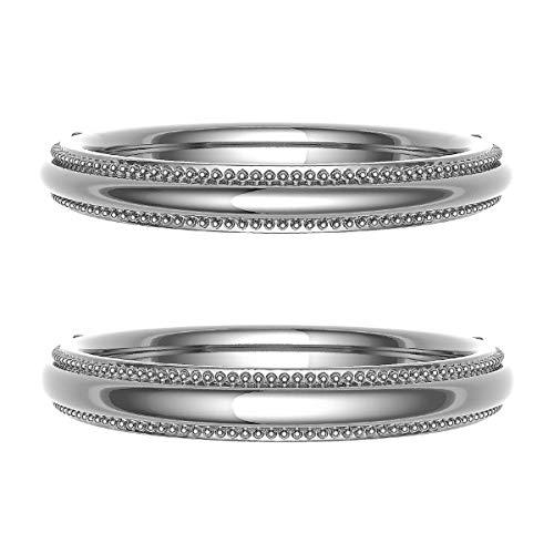[ココカル]cococaru ペアリング 結婚指輪 K10ゴールド 2本セット マリッジリング 日本製 (レディースサイズ6号 メンズサイズ15号)
