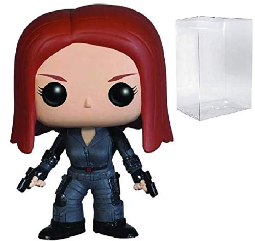 Marvel Captain America: The Winter Soldier - Black Widow Funko Pop! Vinyl Figure (Includes Compatible Pop Box Protector Case