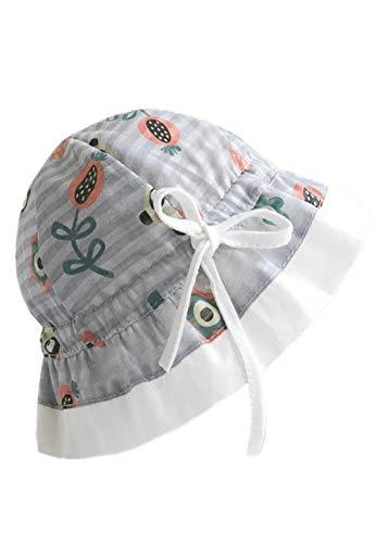 Alita Sonnenhut Kinder einstellbare Sonnencreme Neugeborene Baby Hut Gaze Sonnenhut Baby uv Schutz